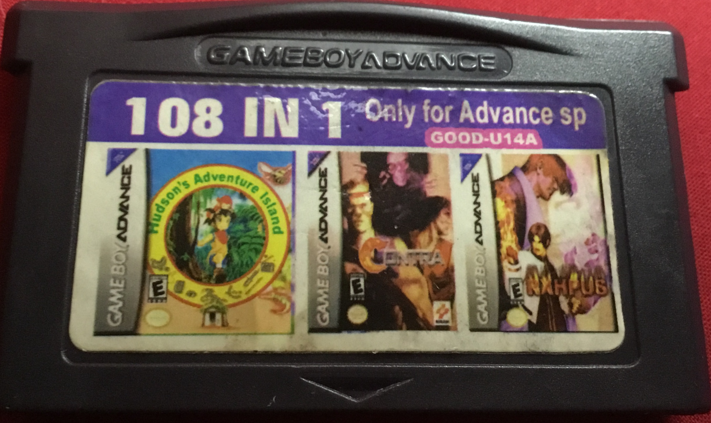 108 in 1 Gameboy Advanced GOOD-U14A
