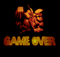 Super Donkey Kong 2 - Game Over