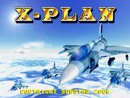 X-Plan title screen