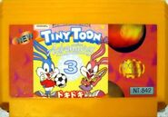 The Tiny Toon 3 Crazy Castle Cartridge 1