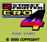 Street Fighter Zero 4