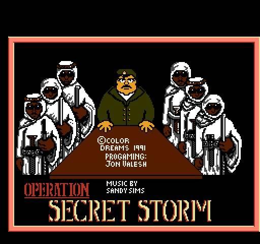 Operation Secret Storm