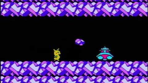 -NES- Pokemon II (Hack) - intro, final battle, ending