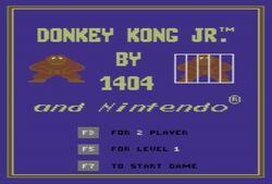 Donkey Kong Jr. by 1404 - Title screen.jpg