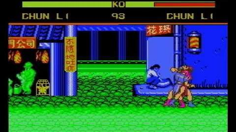 Street Fighter IV Pro 10 (NES Pirate Game) Gameplay-0