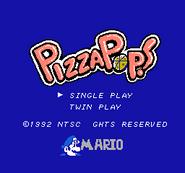 Pizza Pop Mario-title