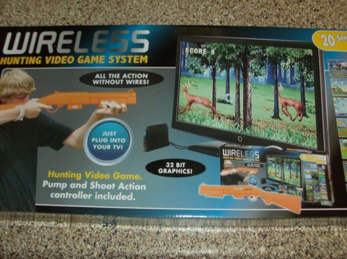 Wireless Hunting Video Game System
