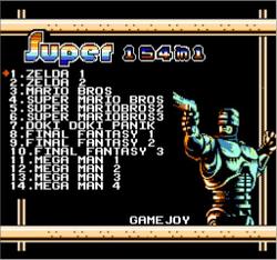 Ultimate Famicom Remix 154-in-1 Menu.png