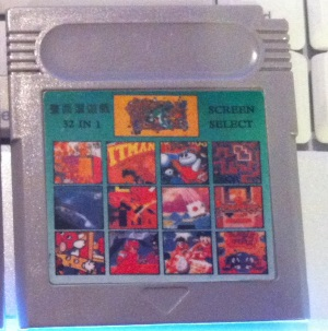 "32 In 1 ""SCREEN SELECT"" (Game Boy)"