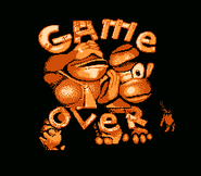 Super Donkey Kong - Game Over