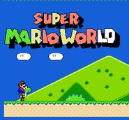 Super Mario World (Famicom) - Title screen