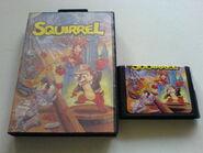 Squirrel King Box art and Cartridge