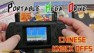 Chinese Knock Offs - Game Pocket - Portable cartridge based Mega Drive