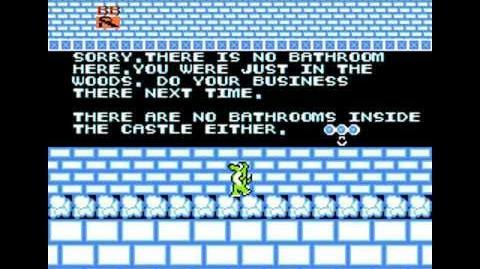 Dragon Feet NES - Game Footage