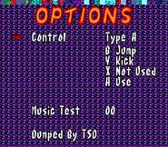 Sonic the Hedgehog 4 - Options