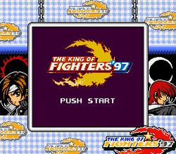 King of Fighters 97 SGB Title Screen.png