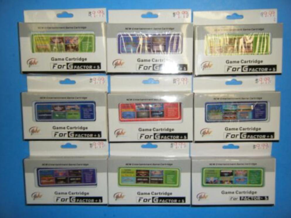G Factor cartridges