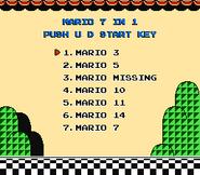 Mario 7-in-1 Menu