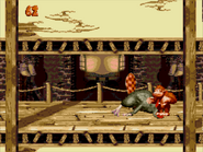 Super Donkey Kong '99 Defeating Very Gnawty