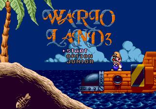 Wario Land 3 (Mega Drive)