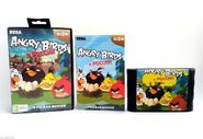 Angry birds in russia box manual and cartridge