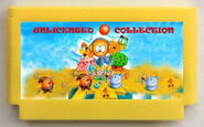 Unlicensed-Collection-142-in-1 Famicom cartridge