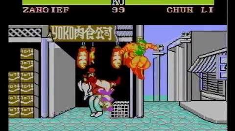 Street Fighter II (YOKO SOFT) (NES Pirate Game) Zangief Longplay
