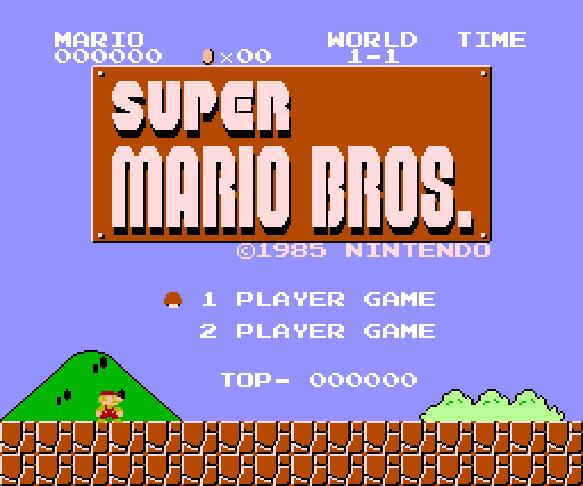 Super Mario Bros. (PC Engine)