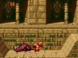 Super Donkey Kong '99 Defeating Really Gnawty.png