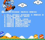 Super Mario Bros. Remix Menu Screen