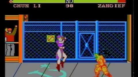 Street Fighter II (YOKO SOFT) (NES Pirate Game) Chun-Li Perfect Run