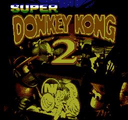 Super Donkey Kong 2 - Title screen.png