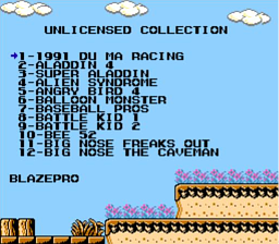 Unlicensed Collection 142-in-1