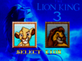 The Lion King 3 - Select a character