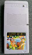 Gameboy multicart super68in1