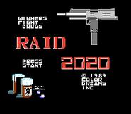 Raid 2020 Title screen
