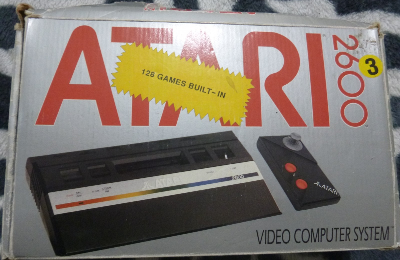 Atari 2600 - 128 Games Built-In