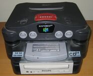 N64 mounted on CD64