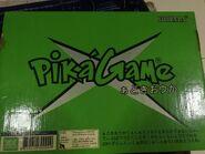 PikaGame box back green