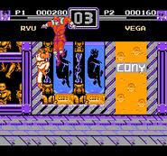 World Heroes 2 - Ryu vs. M. Bison