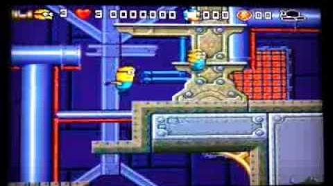 Despicable Me 2 - Russian hack for Sega Genesis Mega Drive, unofficial release
