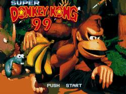 Super Donkey Kong '99 - Title screen.png