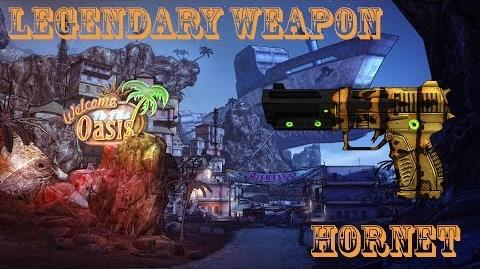 Borderlands 2 легендарні гарматки - 1 Hornet (Шершень)
