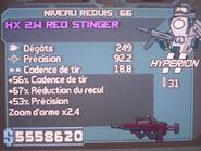 HX 2W Red Stinger 66