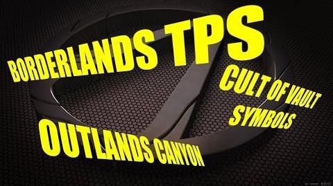 Vault Symbols-Outlands Canyon (Borderlands TPS)