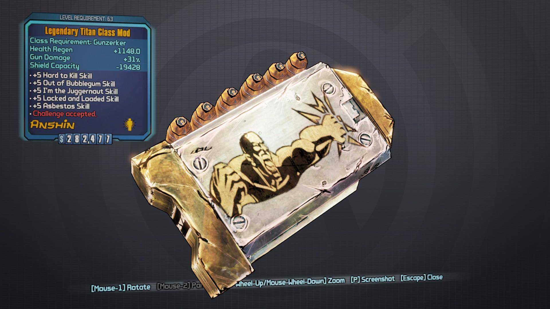 Legendary Titan
