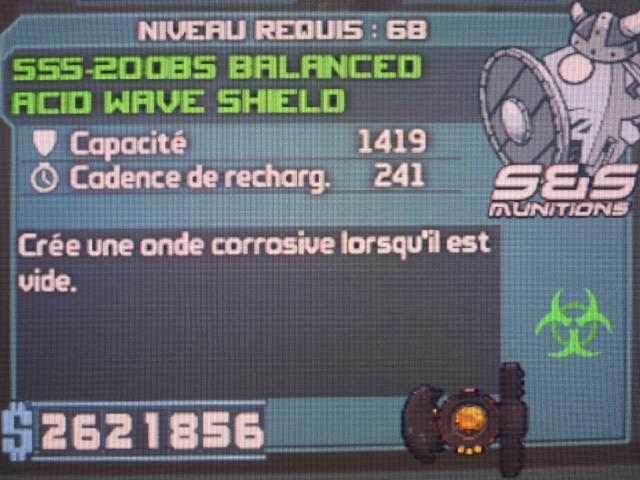 Acid Wave Shield