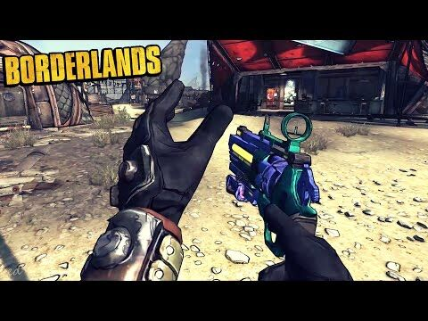 Borderlands_1_-_All_Unique_Weapons_-_Animations,_Sounds_&_Effects