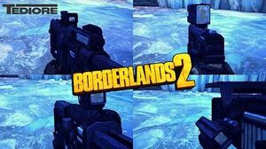 Borderlands 2 - Epic Tediore Weapons - Animations & Sounds w Slow Motion