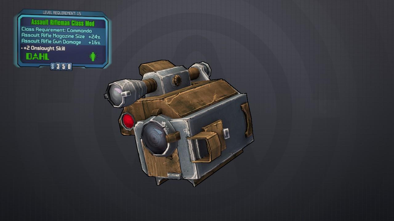 Rifleman (class mod)
